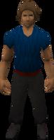 Retro plain trousers (male)
