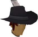 Black cavalier chathead