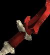 Dragon dagger detail