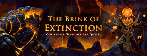The Brink of Extinction banner