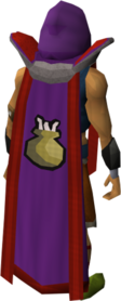 Retro cooking cape (t) equipped
