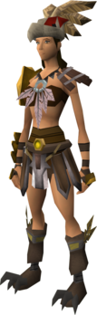 Archon outfit equipped (female)