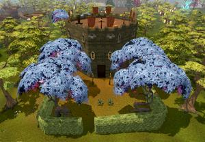 Sorcerer's tower entrance
