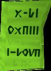 Druidic spell detail