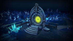 World Gate (Tarddiad)