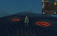 Map clue location small volcanoes