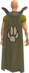 Retro hunter cape equipped