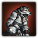 Werewolf outfit icon (female)