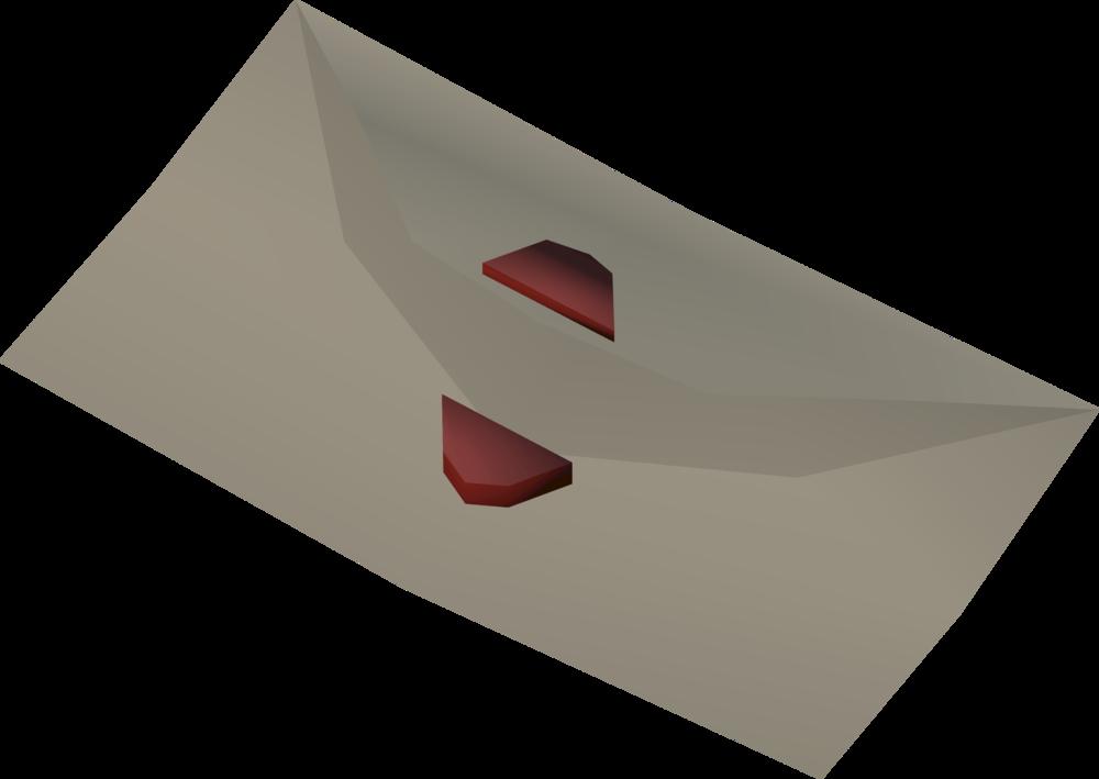 Letter (Jorral) detail