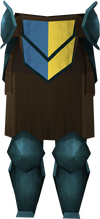 Rune plateskirt (h3) detail