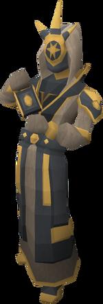 Grand mage statue