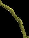 Willow shieldbow (u) detail
