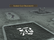 Stealing Creation clay fragments