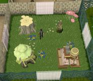 Garden habitat built