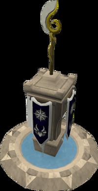 Elaborate magic pillar