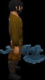 Rune warhammer equipped