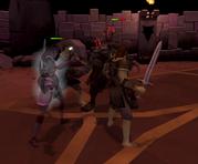 Jerrod fights wights