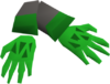 Dragon slayer gloves detail