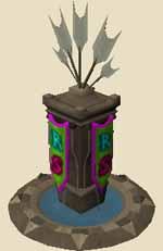 Elaborate ranged pillar