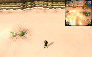 Scan clue Kharidian Desert south-west of north-western mine