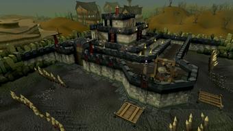 Castle Wars Zamorakian castle