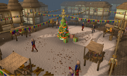 Christmas Ardougne Market