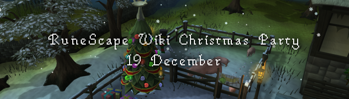 RuneScape Wiki Christmas Party