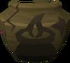 Cracked cooking urn (nr) detail