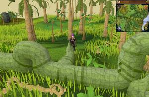 Jade vine entrance