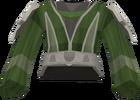 Bryll robe top detail