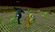 Jungle Demon battle