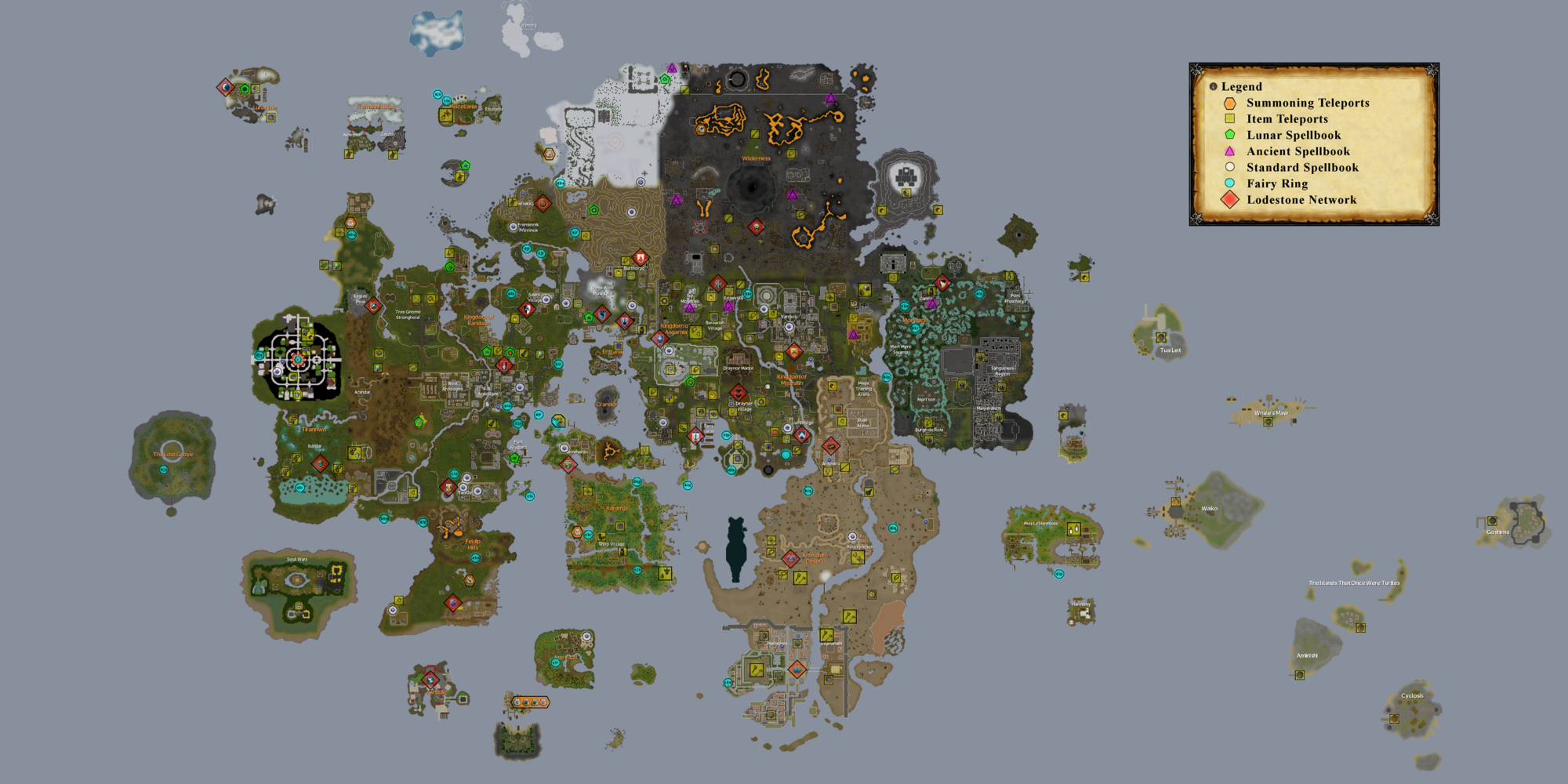 Fairy Ring Teleport Locations Osrs