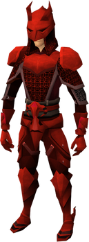 Dragon chain set leg equipped