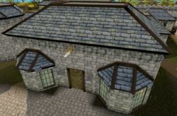 Varrock Sword Shop exterior