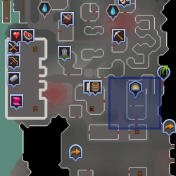Blast Furnace entrance location