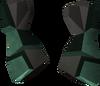 Warrior gauntlets (adamant) detail