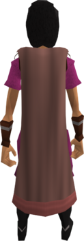 Cape (pink) equipped