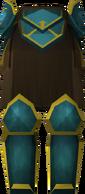 Rune plateskirt (g) detail