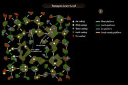 Runespan lower level map