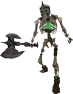 Skeleton hero