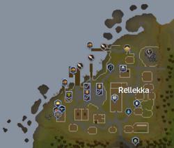 Rellekka map