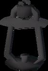 Oil lantern frame detail