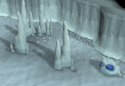 Asgarnian Ice Dungeon safe spot