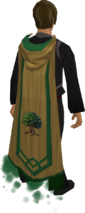 Woodcutting master cape equipped