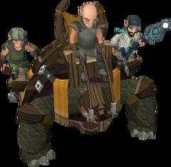 Armoured tortoise