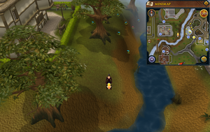 Scan clue East Ardougne east of Carnillean Mansion