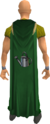 Farming cape equipped