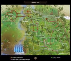 Jade vine maze map