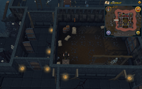 Map clue location Dark Warriors' Fortress