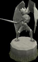 Fine Saradomin statue (God Statues)
